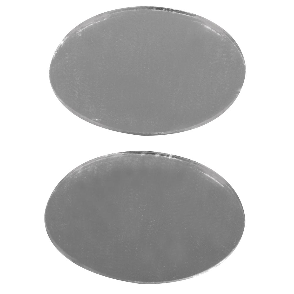 Spiegelmosaik, selbstklebend., 2,6x1,7cm, SB-Btl 45Stück, silber