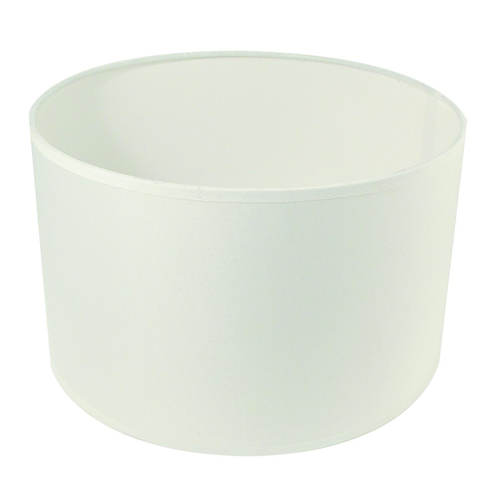 Lampenschirm, rund, 25cm ø, 15cm, geeignet für E27, max. 60 Watt, weiß