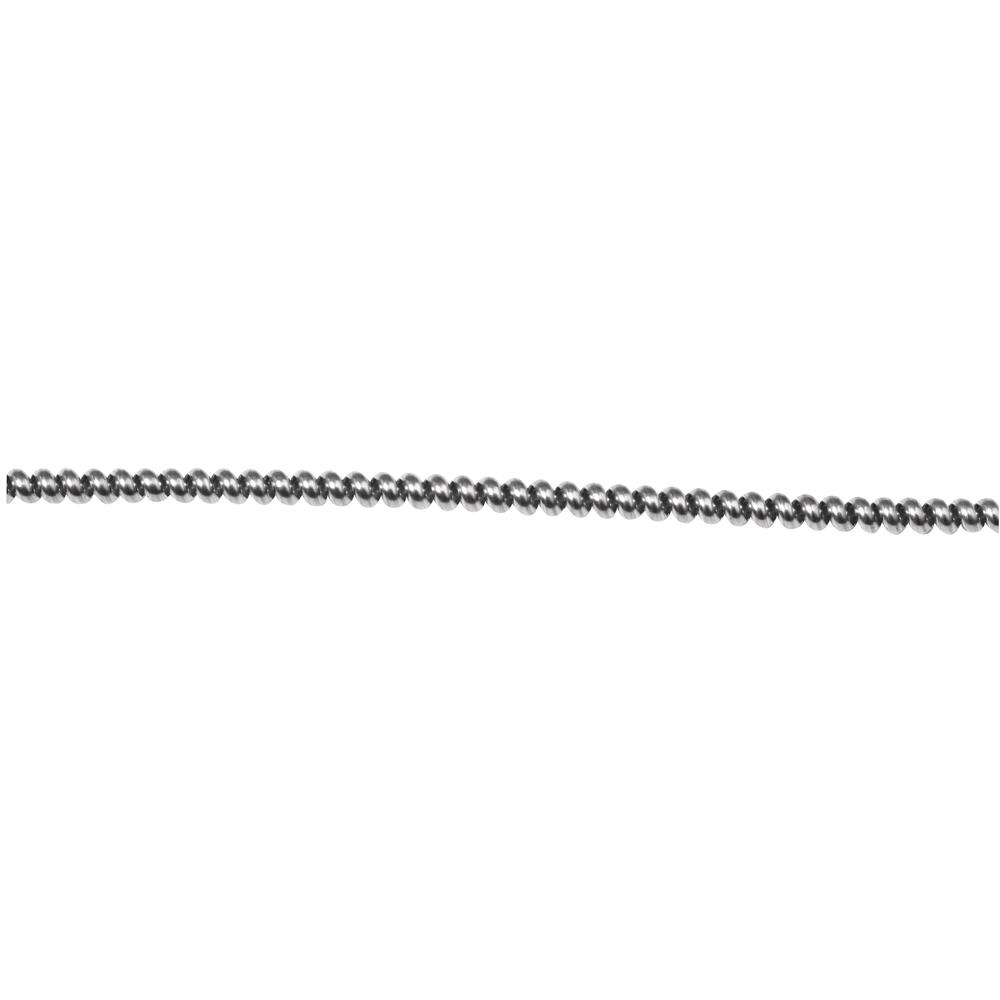 Perldraht, 1,2 mm ø, SB-Btl. 1,5 m, silber