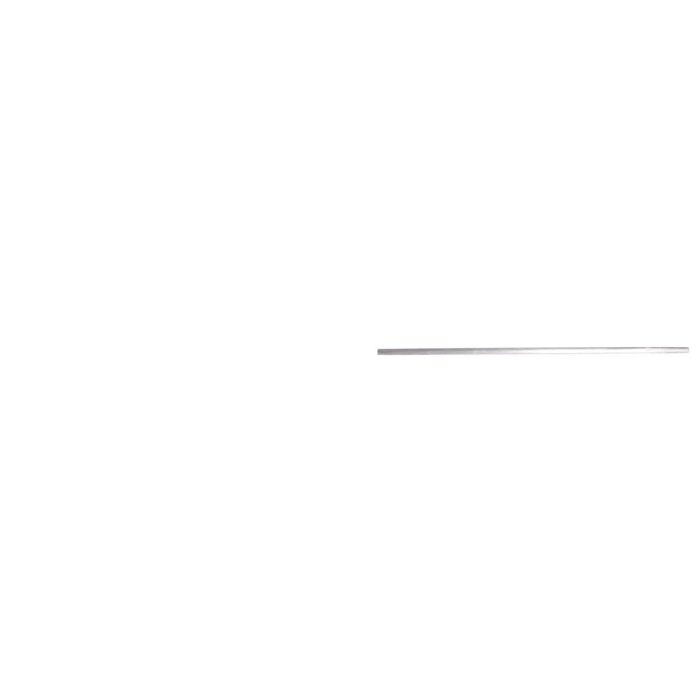 Metallstab, 5mm ø, 25cm, Pulverbeschichtung, Bund 3Stück