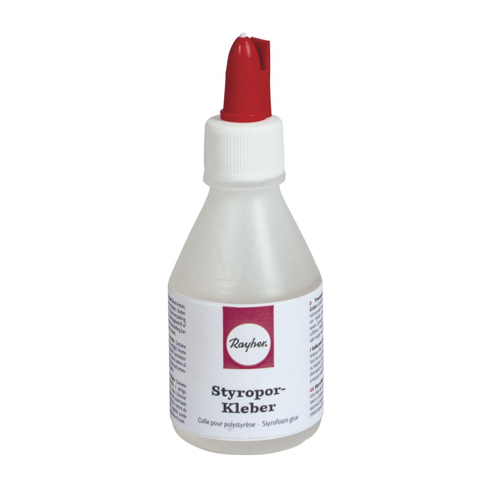 Styropor-Kleber, Spachtel-/Linerver. 100ml, Flasche 90g