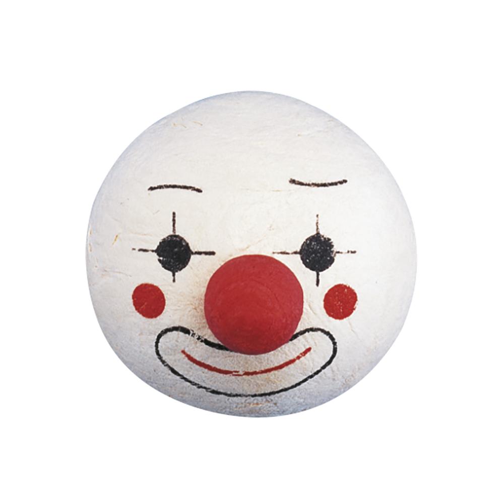 Wattekopf: Clown mit Nase, 40 mm ø, lose