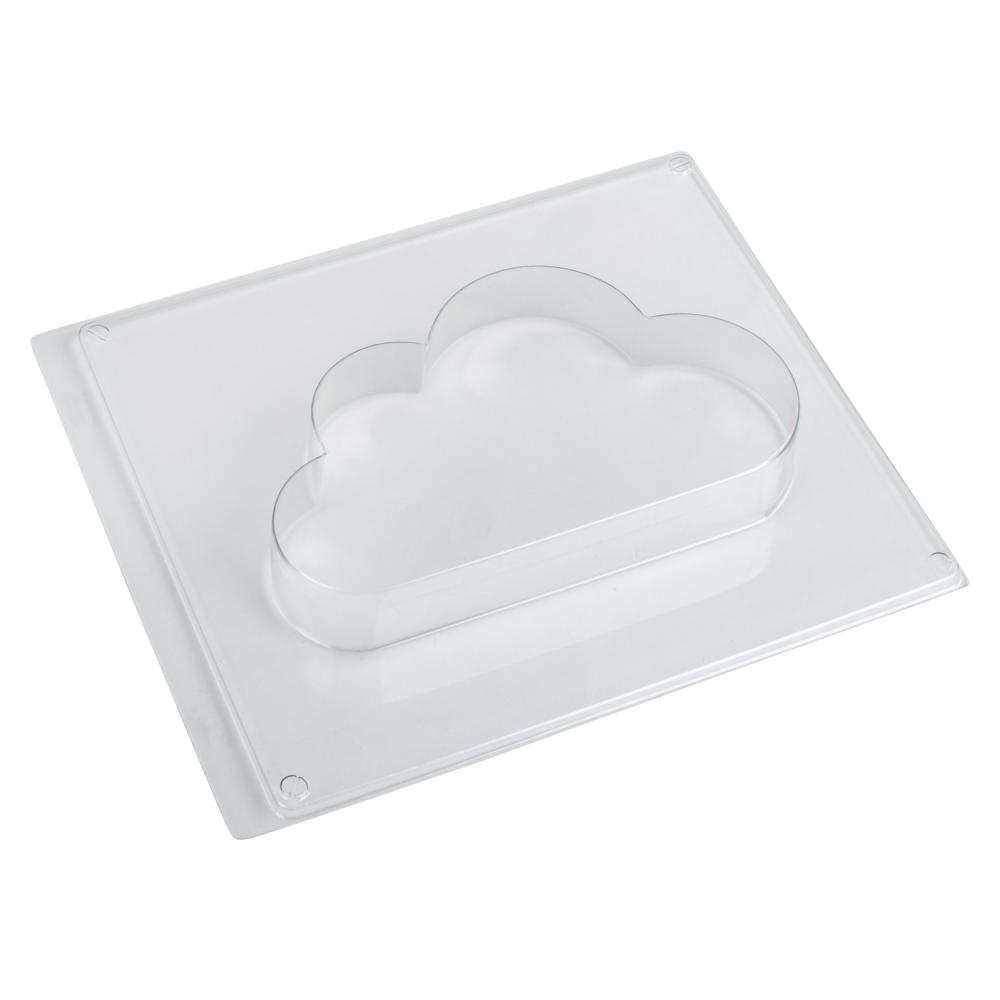 Gießform: Wolke, 17,6x10,2cm, Tiefe 3cm