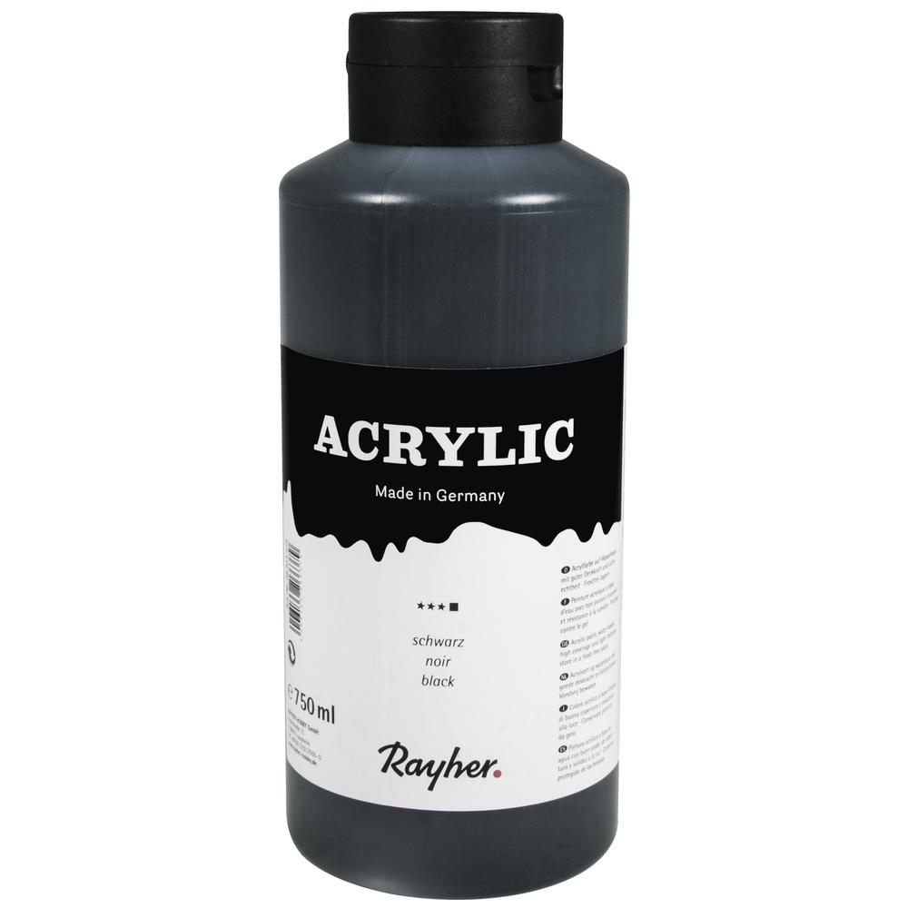 Acrylic, Künstleracrylfarbe, Flasche 750ml