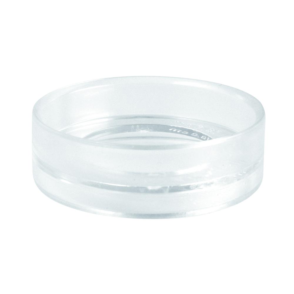 Sockel für Plastikkugel, 6cm ø, kristall