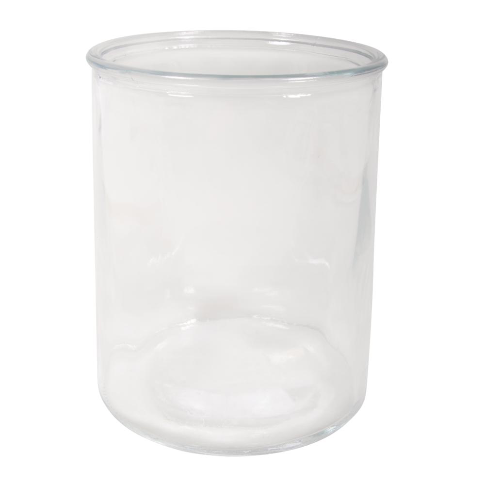 Glas Gefäß, 12,3cm ø, 15cm, 1200ml