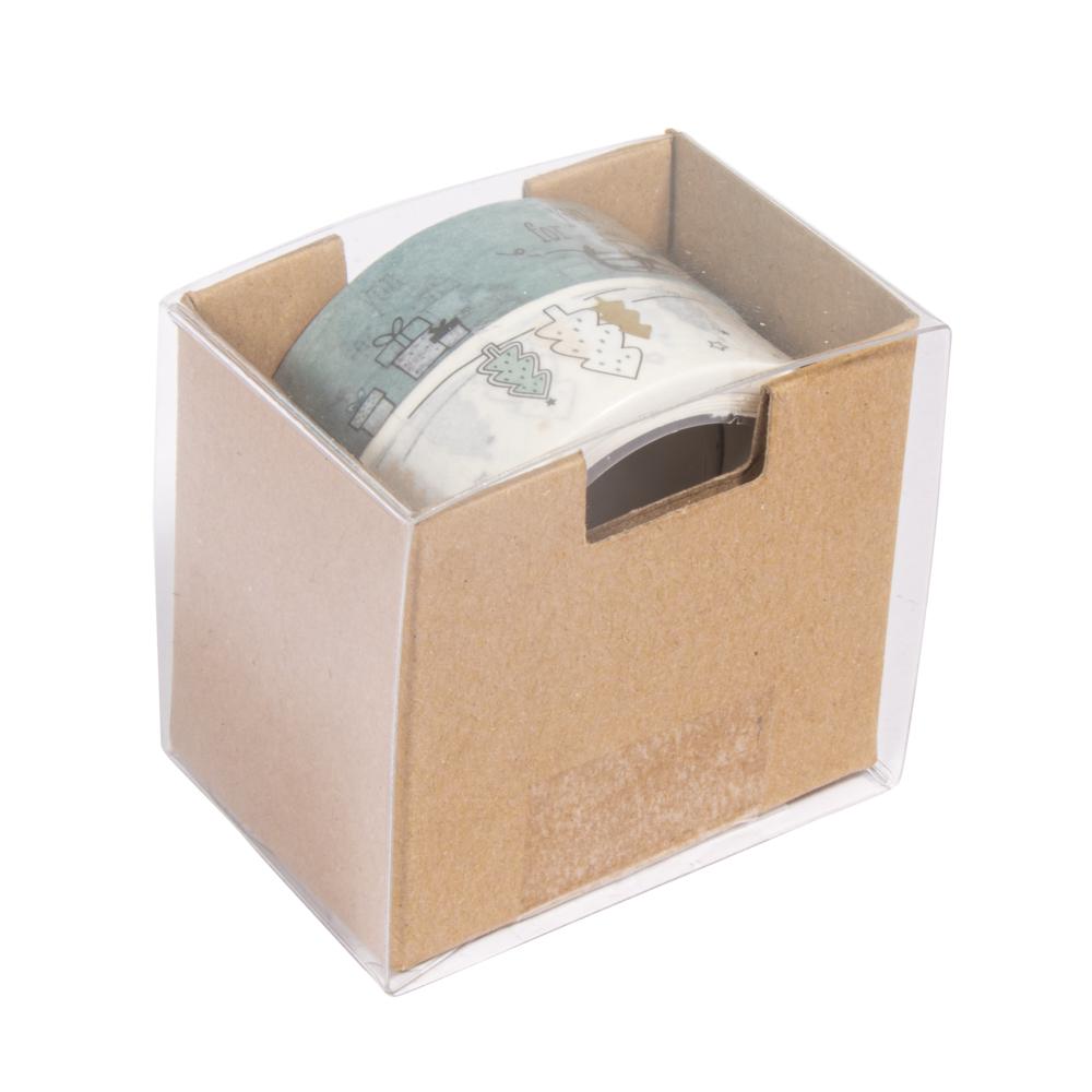 Washi Tape Set Weihnachtszauber, 10m x 15mm, 5m x 15mm, Box 2Stück