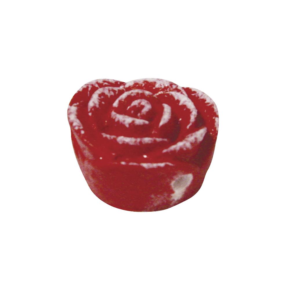 Resin-Schmuckröschen, ø 1,5 cm, Dose 5 Stück