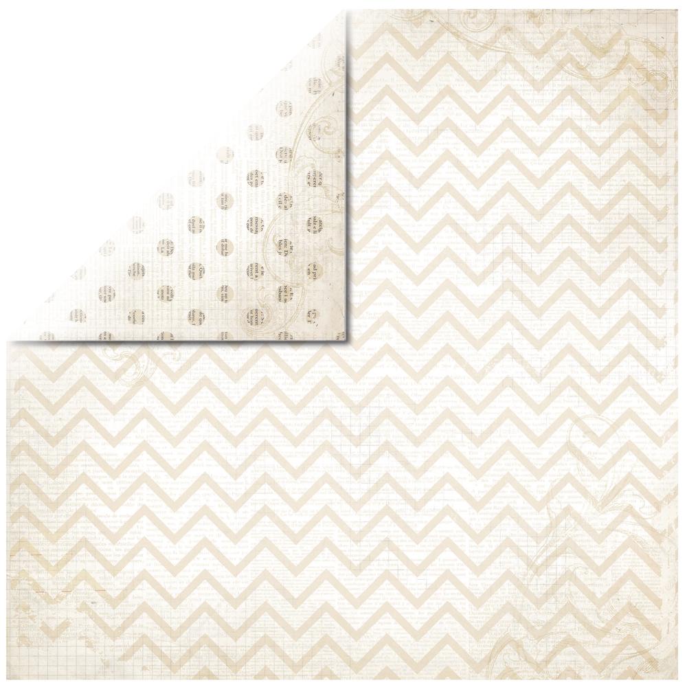 Scrapbookingpapier Chevron, 30,5x30,5cm, 190g/m2