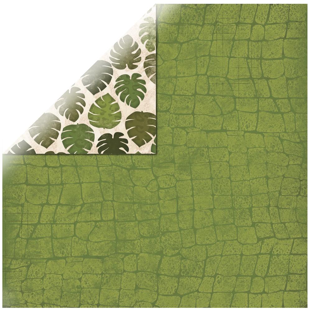 Scrapbookingpapier Safari Palms, 30,5x30,5cm, 190g/m2