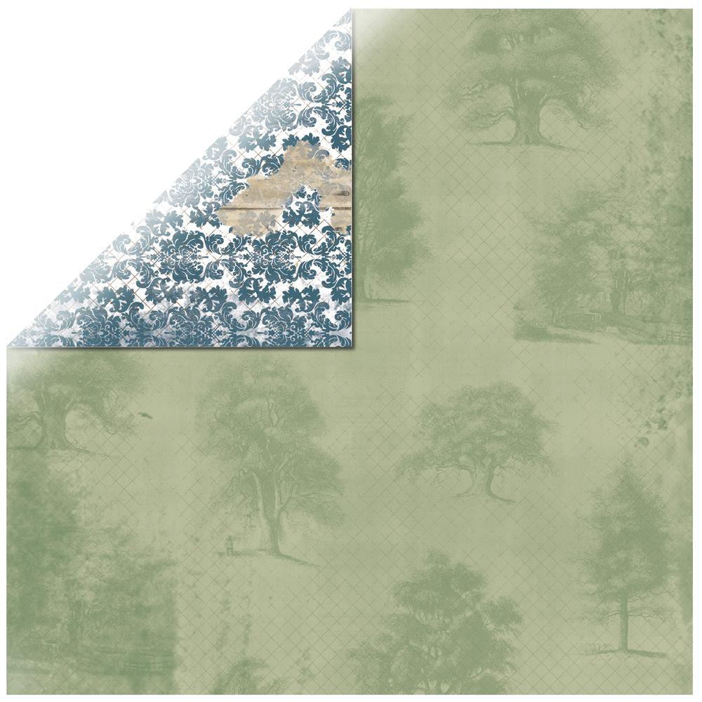 Scrapbookingpapier Provence Breathtaking, 30,5x30,5cm, 190g/m2