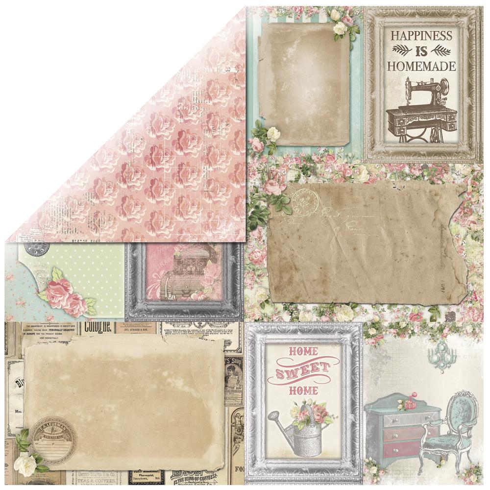 Scrapbookingpapier Soirée Splendid, 30,5x30,5cm, 190g/m2
