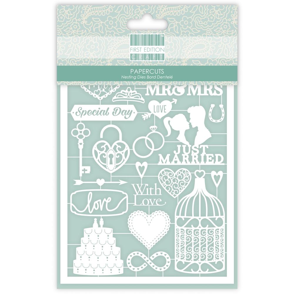 First Edition Paper Cuts- Wedding, SB-Btl 20Stück