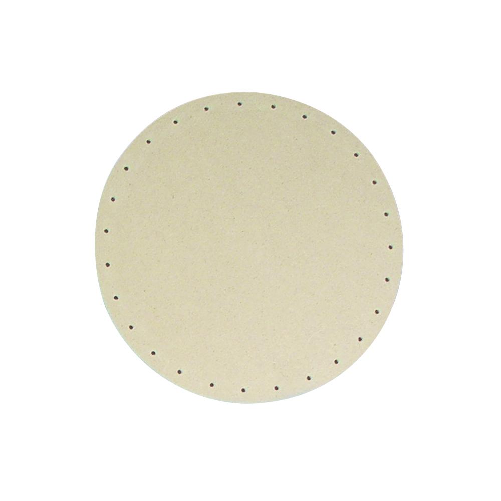 MDF-Korbflechtboden, 20cm ø, rund, Löcher ø 3mm