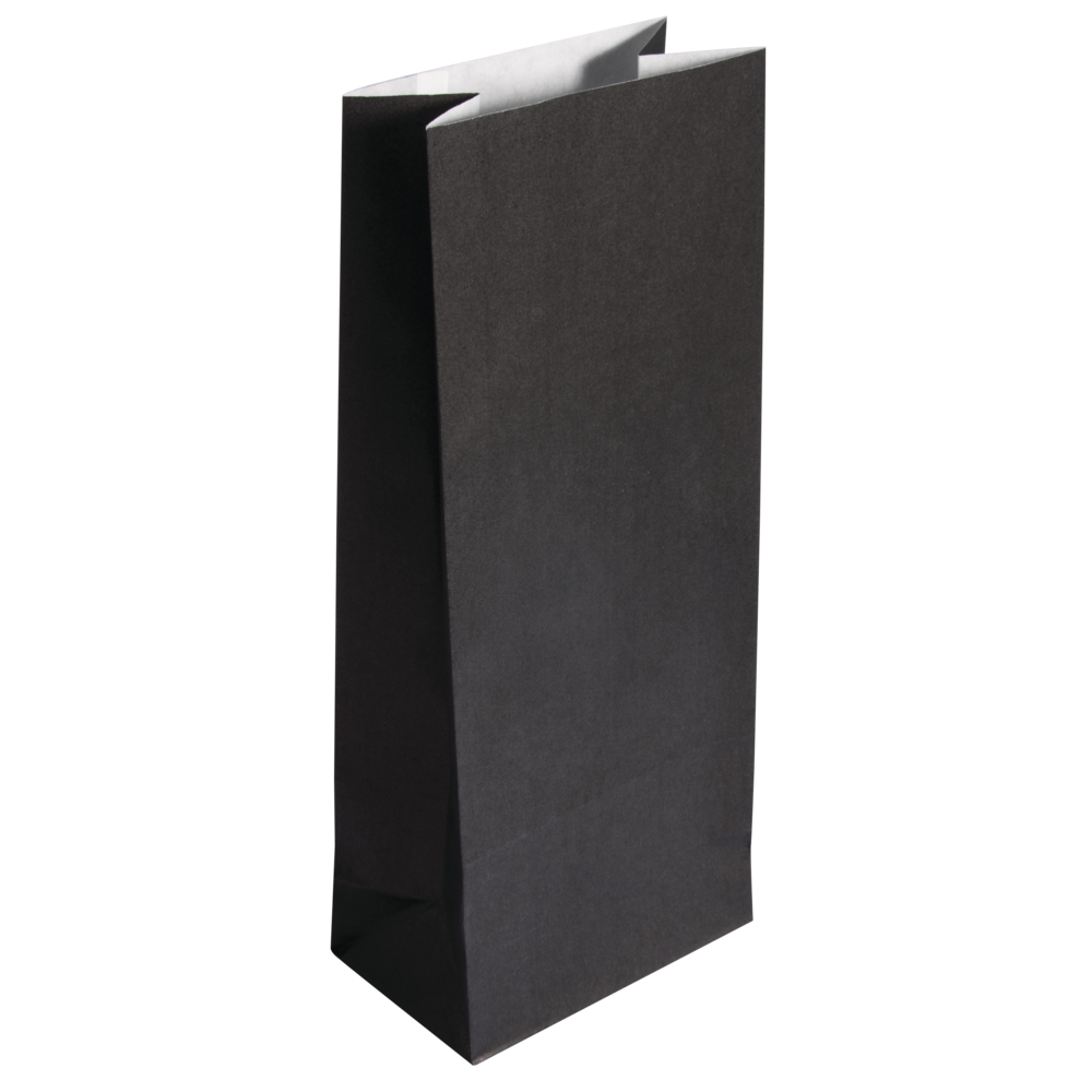 Papier-Blockbodenbeutel, 10x24x6cm, 80g/m², SB-Btl. 25Stück