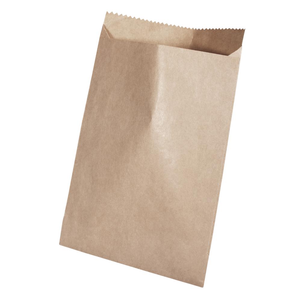 Papiertüte braun, Lebensmittelecht, 9x13cm, 60g/m2, SB-Btl 20Stück