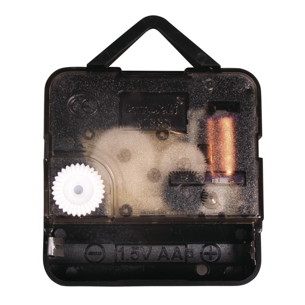 Quarz-Uhrwerk, 7,6mm ø, 12mm Achse, montiert, SB-Btl 1Stück