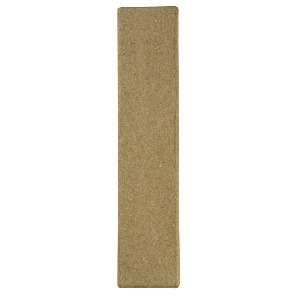 Pappmaché Buchstabe I FSC Recycled, 15x3,2x3cm