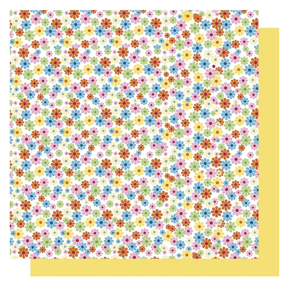 Origami Papier Blüten,FSC Mix Credit, 10x10cm, gelb Töne, Beutel 65Blatt