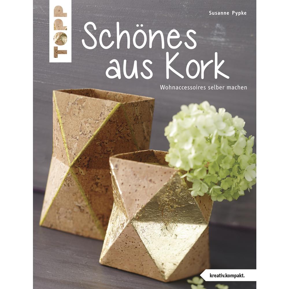 Buch: Kreative Ideen f. Zuhause mit Kork, nur in deutscher Sprache