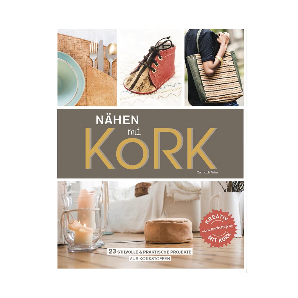 Buch: Nähen mit Kork, Hardcover,nur in deutscher Sprache