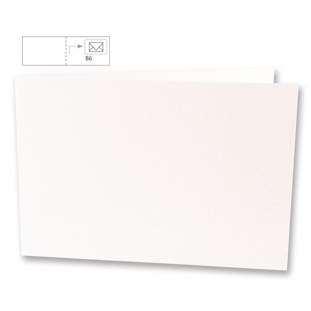 Einlegekarten quer,FSC Mix Credit, 336x116mm, 102g/m2, Beutel 5Stück