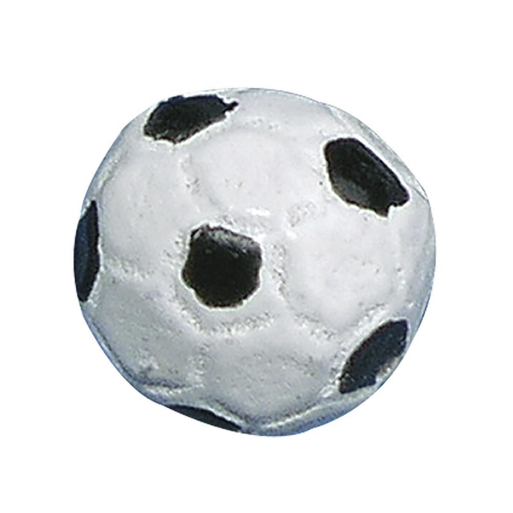 Polyresin-Fußball, 1,2 cm ø, SB-Btl. 12 Stück