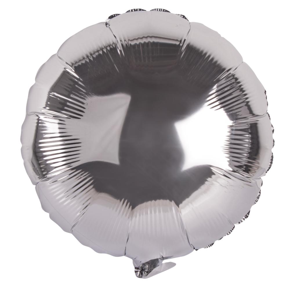 Folienballon rund, 44cm ø, SB-Btl 1Stück